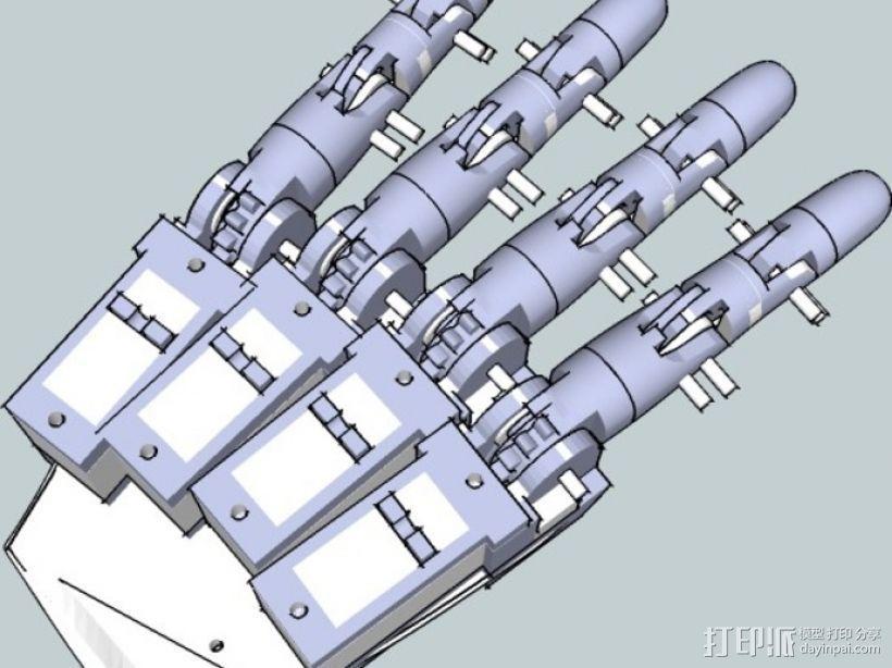 InMoov机械手 3D模型  图3