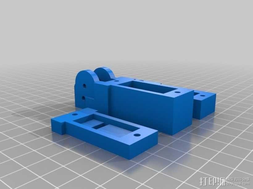 InMoov机械手 3D模型  图9