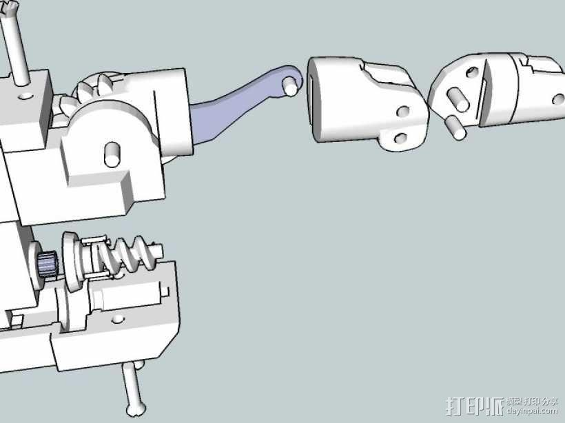InMoov机械手 3D模型  图11