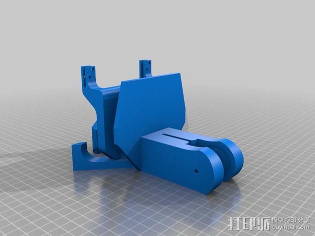 CarlTronic仿生机器人头部 3D模型  图5