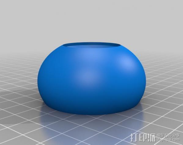 CarlTronic仿生机器人头部 3D模型  图13