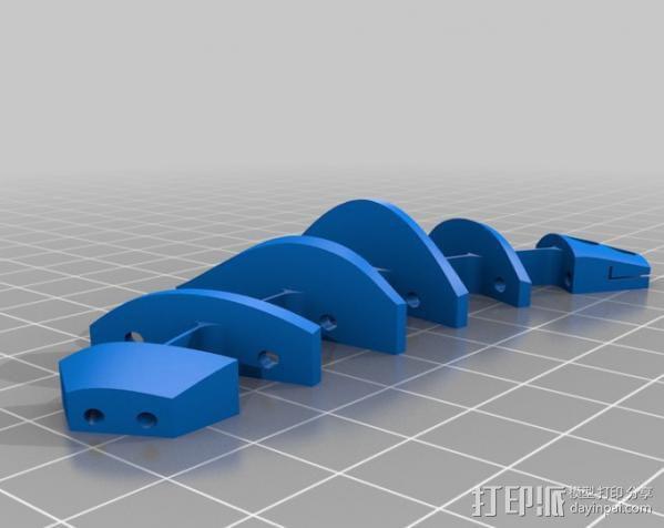 CarlTronic仿生机器人头部 3D模型  图12