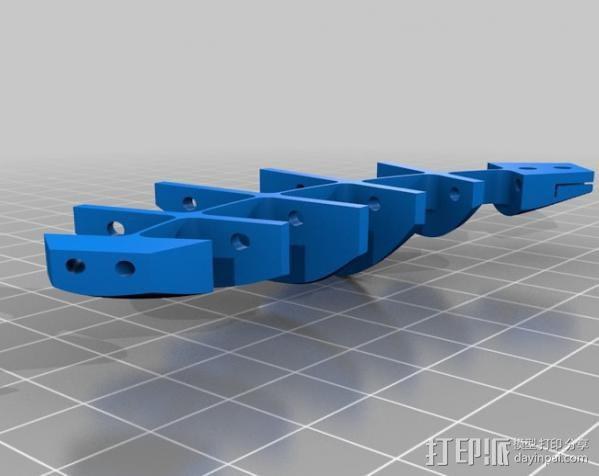 CarlTronic仿生机器人头部 3D模型  图14