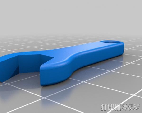 SMA扳手 3D模型  图2