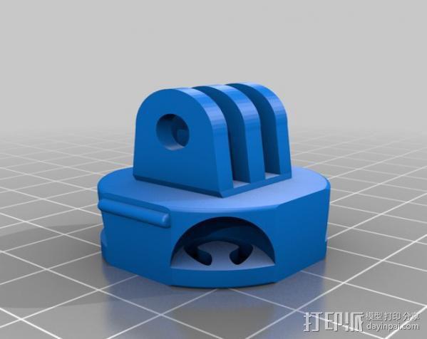 O形环 3D模型  图3