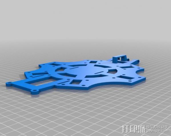 六轴飞行器 3D模型  图5
