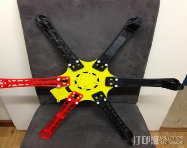 六轴飞行器 3D模型  图8