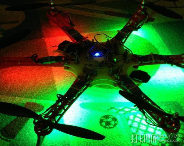 六轴飞行器 3D模型  图13