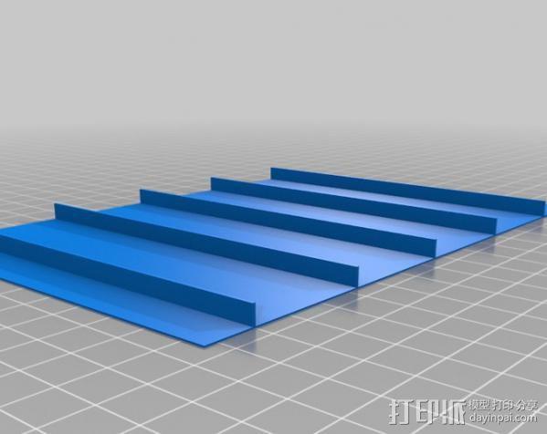 石头打磨抛光机零部件 3D模型  图7