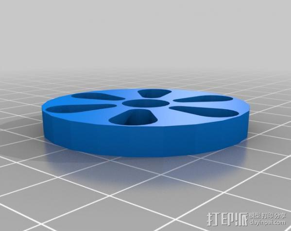 石头打磨抛光机零部件 3D模型  图6