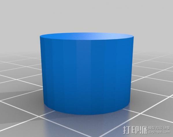 石头打磨抛光机零部件 3D模型  图9