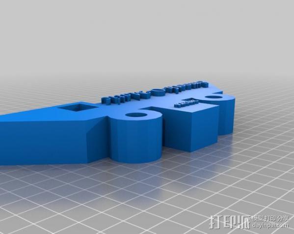 石头打磨抛光机零部件 3D模型  图10