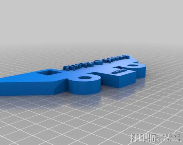 石头打磨抛光机零部件 3D模型  图12