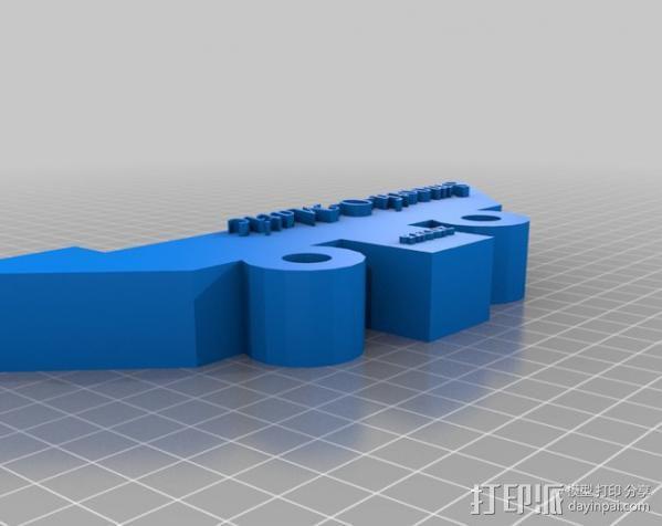 石头打磨抛光机零部件 3D模型  图13