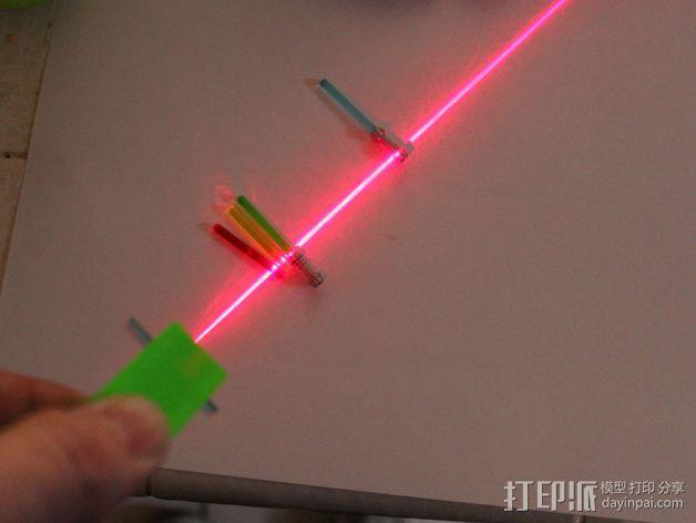 激光棒 3D模型  图1