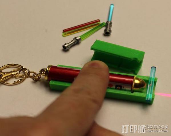 激光棒 3D模型  图5