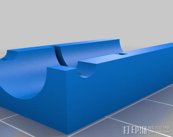 激光棒 3D模型  图7