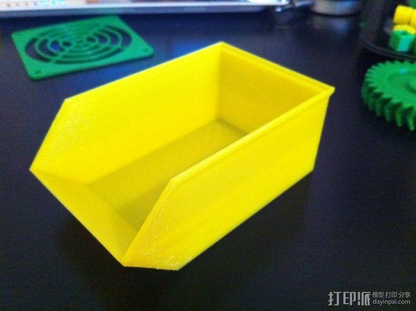 可堆叠零部件小盒 3D模型  图2