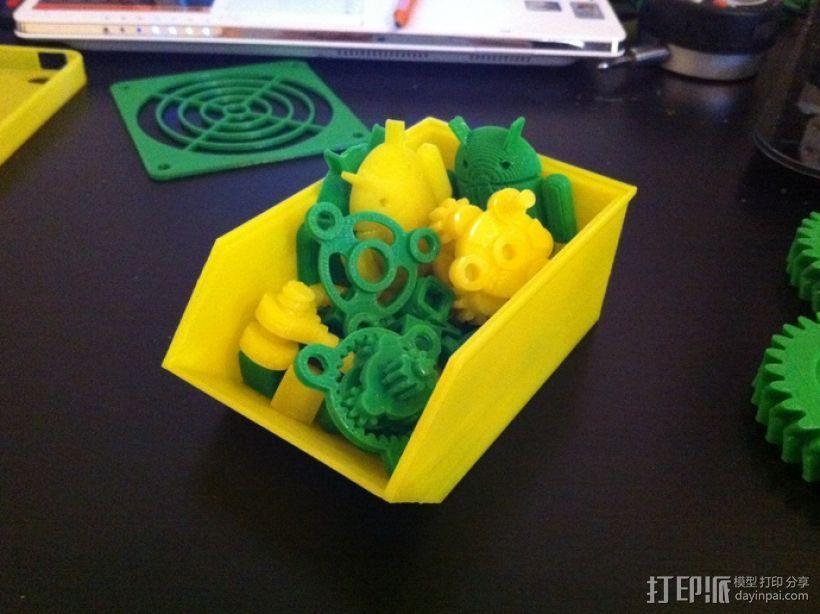 可堆叠零部件小盒 3D模型  图3