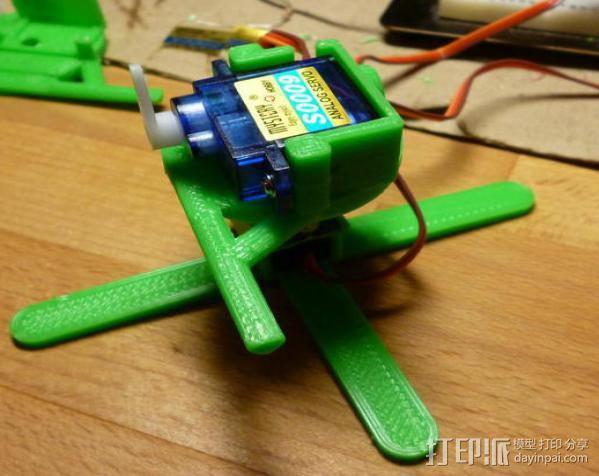 微伺服机械臂 3D模型  图5