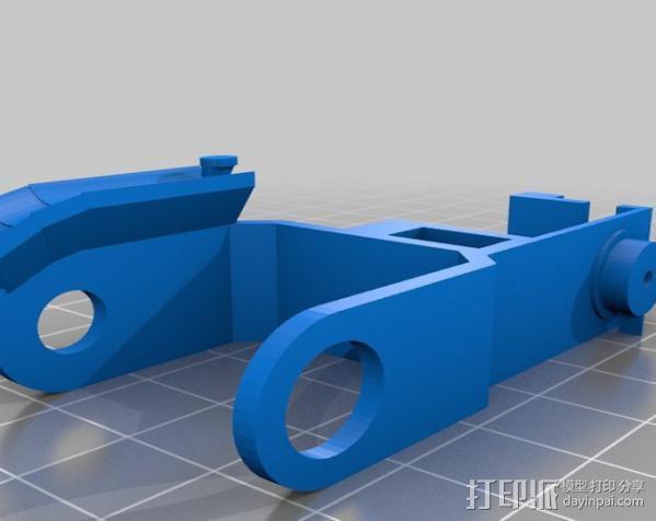 微伺服机械臂 3D模型  图6