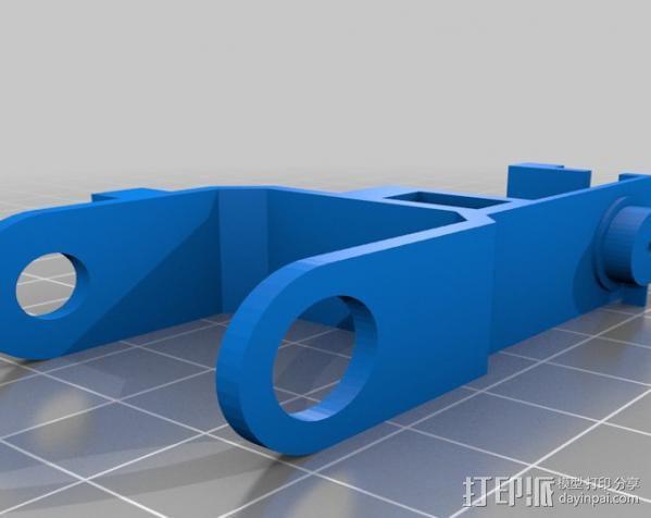 微伺服机械臂 3D模型  图8
