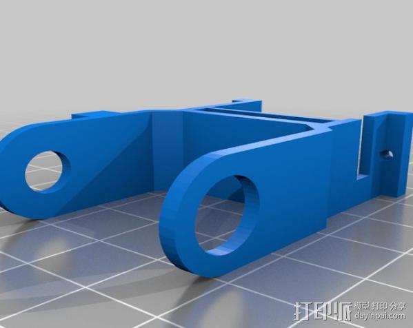 微伺服机械臂 3D模型  图10