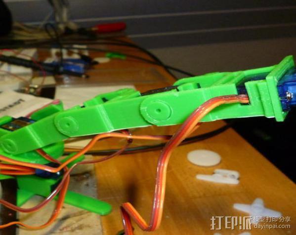 微伺服机械臂 3D模型  图12