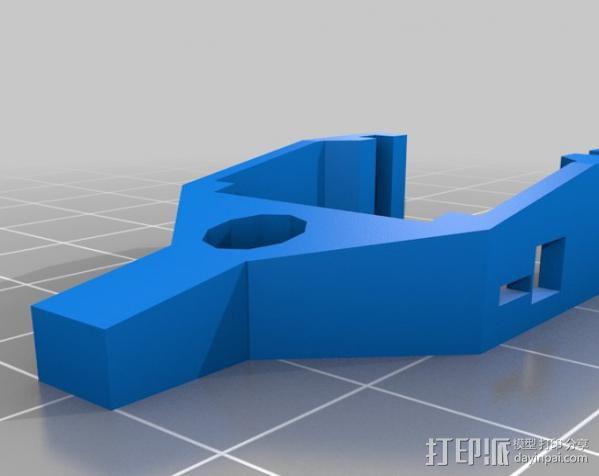 微伺服机械臂 3D模型  图13