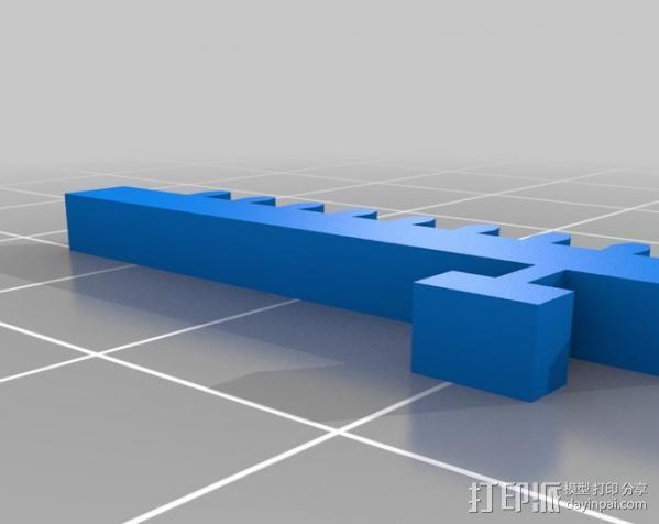 微伺服机械臂 3D模型  图14
