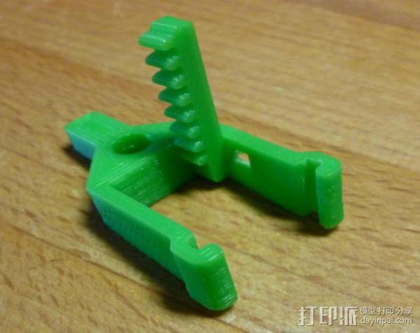 微伺服机械臂 3D模型  图15