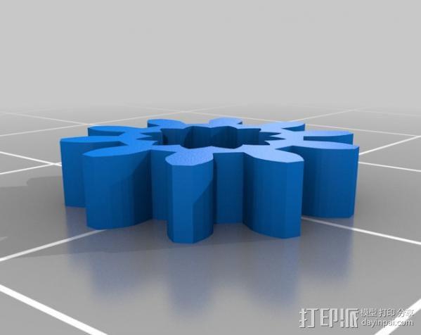 微伺服机械臂 3D模型  图16