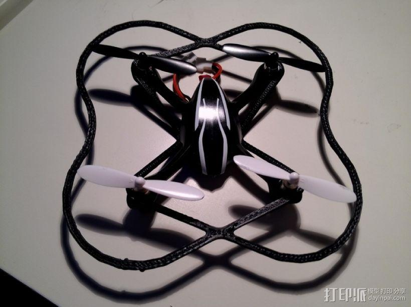 Hubsan X4迷你四轴飞行器 保护装置 3D模型  图2