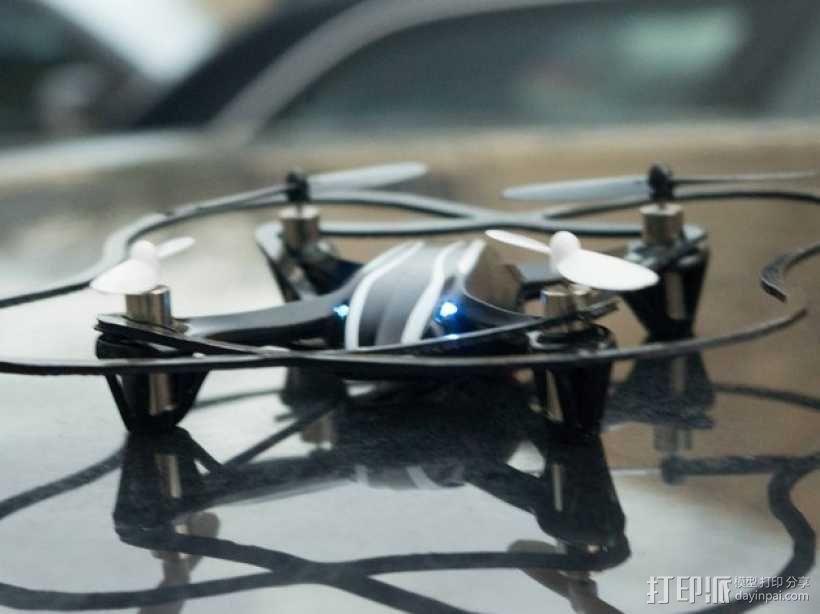 Hubsan X4迷你四轴飞行器 保护装置 3D模型  图4