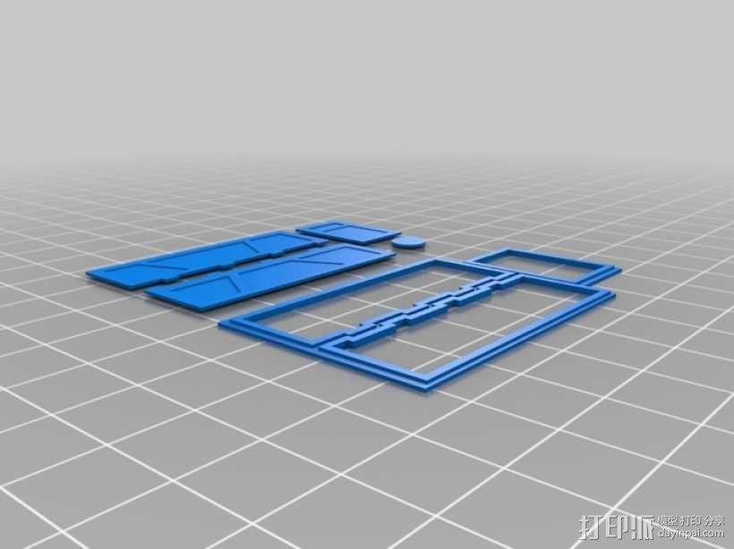 """""""火星探路者""""探测器 3D模型  图2"""