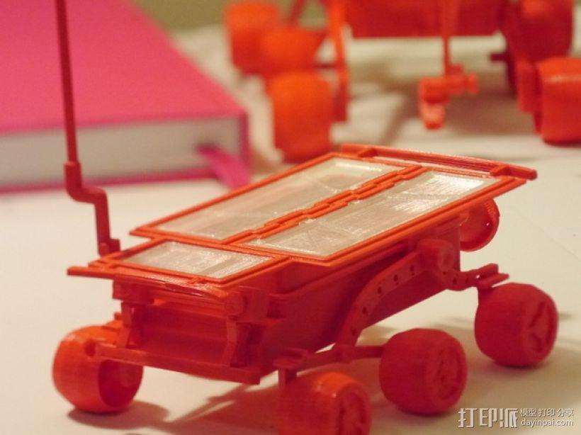 """""""火星探路者""""探测器 3D模型  图5"""