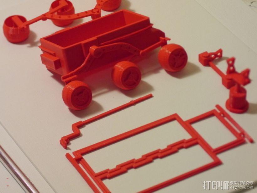 """""""火星探路者""""探测器 3D模型  图6"""