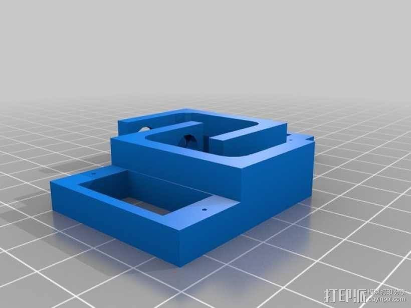 迷你四足机器人 3D模型  图5
