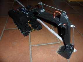 挖掘机 3D模型