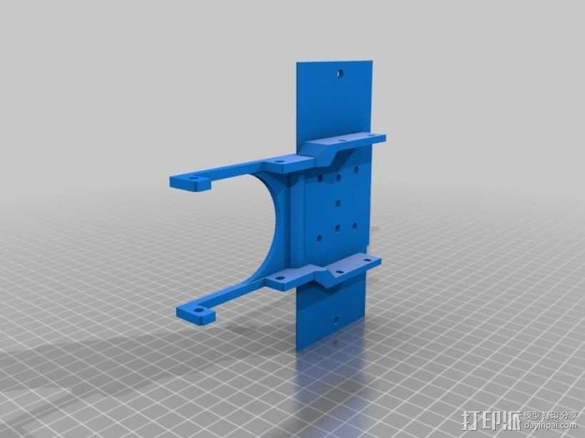挖掘机 3D模型  图7