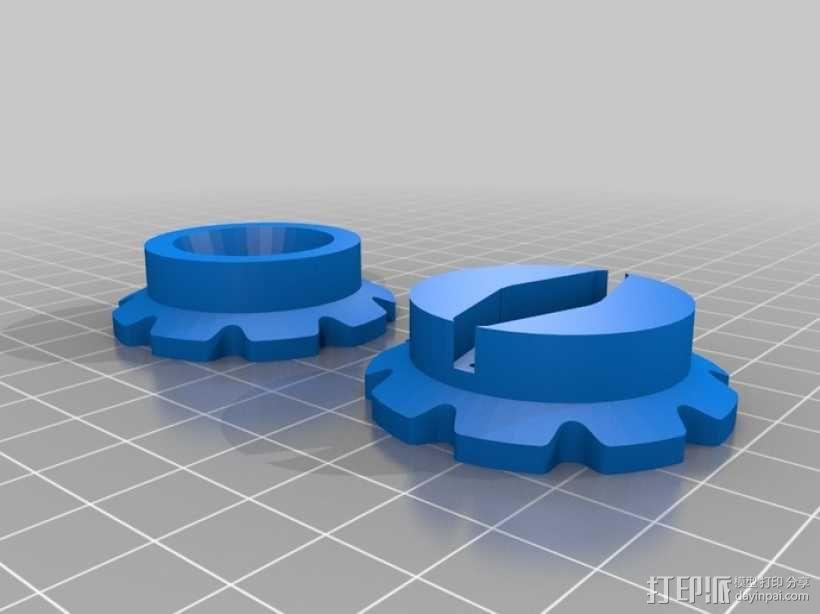 挖掘机 3D模型  图9