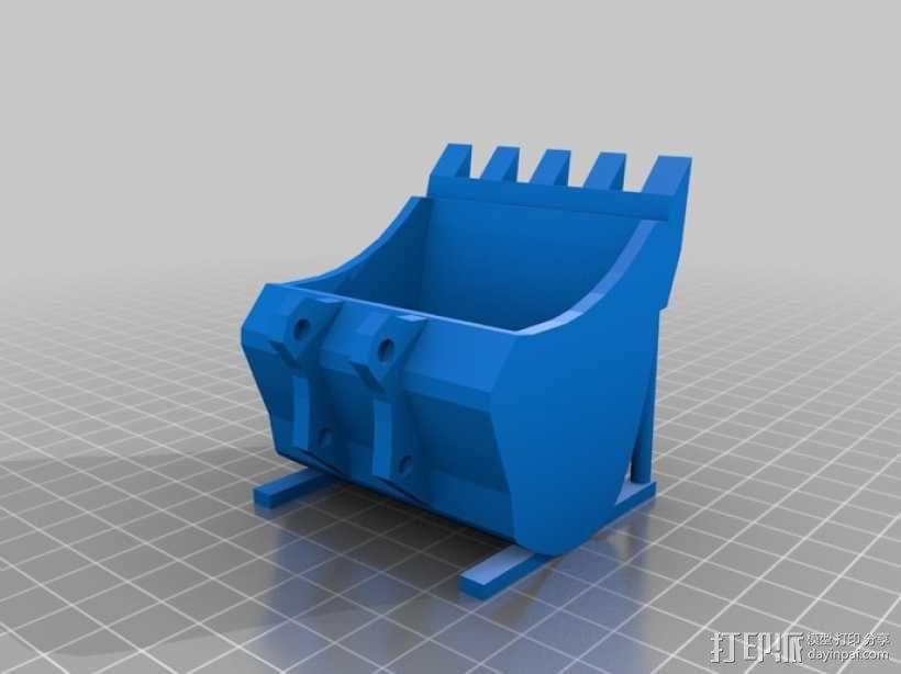 挖掘机 3D模型  图16