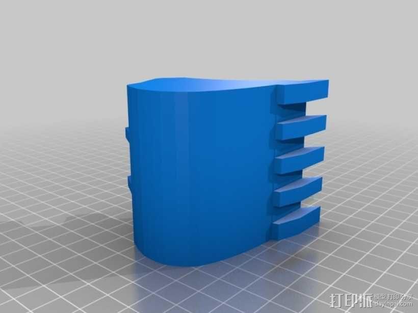 挖掘机 3D模型  图19