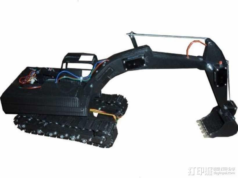 挖掘机 3D模型  图31