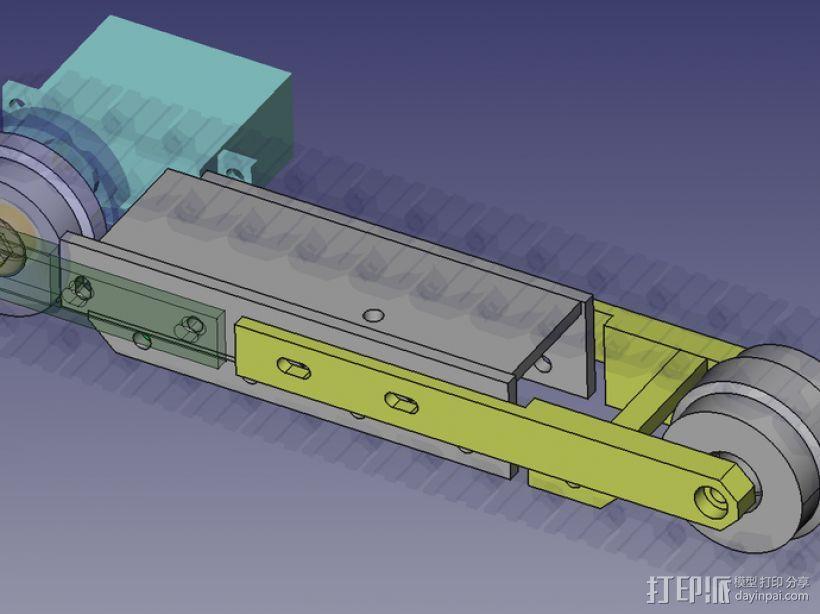 挖掘机 3D模型  图32
