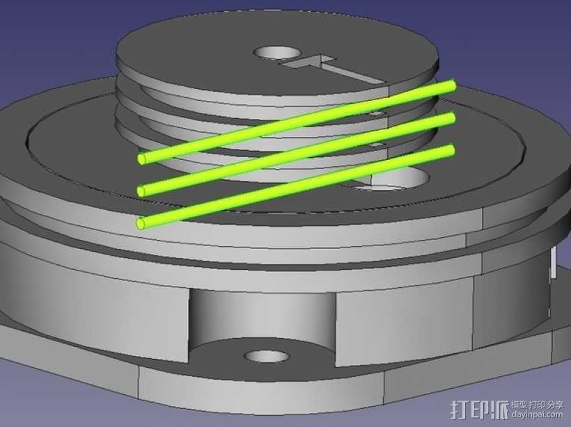 挖掘机 3D模型  图35