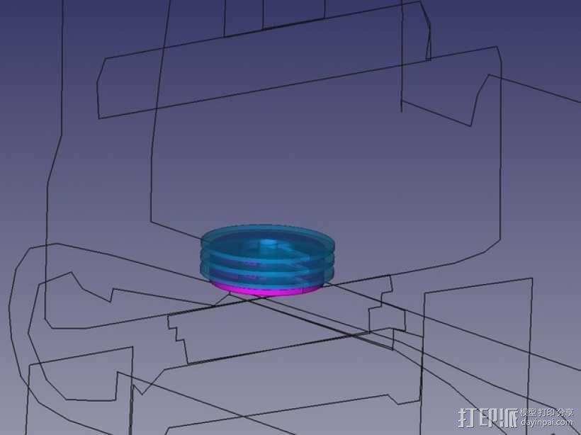 挖掘机 3D模型  图36