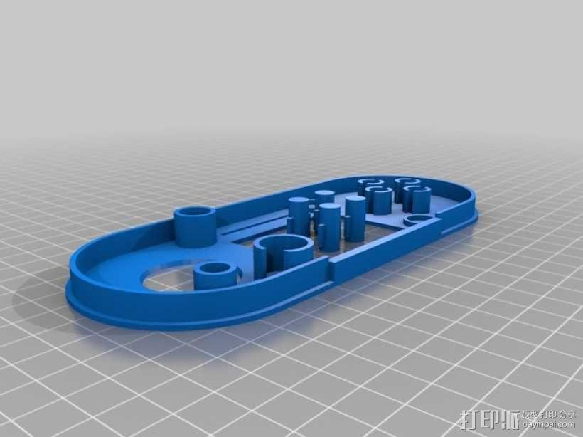 Arduino Esplora电路板外壳 3D模型  图7