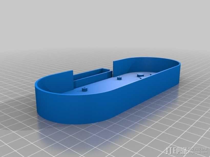 Arduino Esplora电路板外壳 3D模型  图6