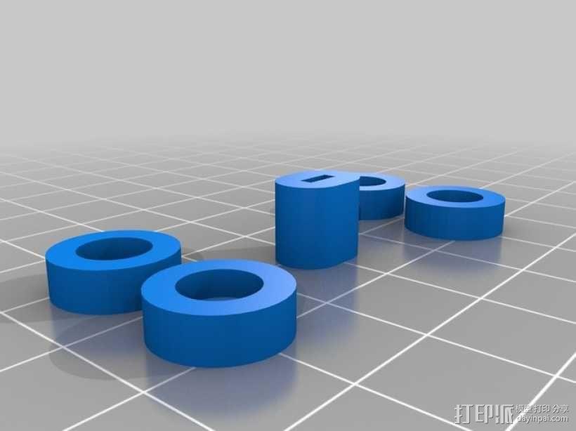 Arduino Esplora电路板外壳 3D模型  图9